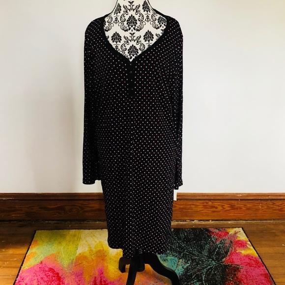 Charter Club polka dot nightgown. XXL aab21fe06